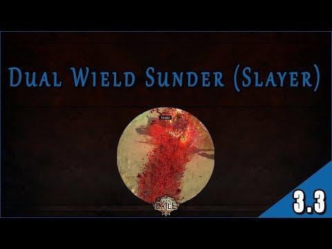 Guía Builds 3.3 - Liga Incursión || Build Starter 4/10 [Sunder - Duelist (Slayer)]