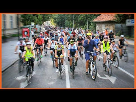 Cityradeln In Graz Mit 720 Radfahrer - Radtour Durch Die Stadt