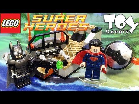 레고 슈퍼맨 배트맨 히어로들의 전투 76044 조립 리뷰 Lego DC Comics Super Heroes Clash of the Heroes