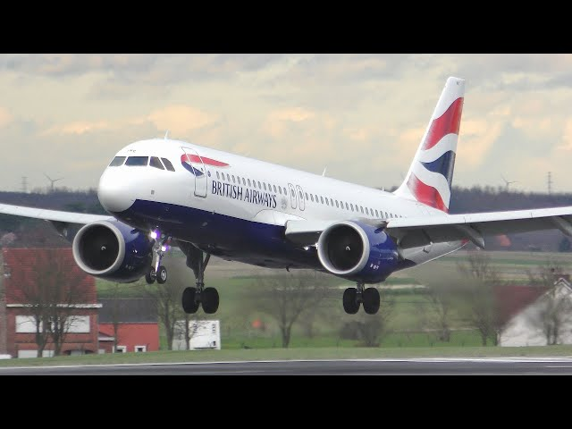 [4K] Plane Spotting at Brussels Zaventem 2020   A320NEOs A321s 737s & More