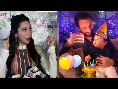 Taimur Ali Khan's 1st Birthday Plan Revealed By Karisma Kapoor Mp3