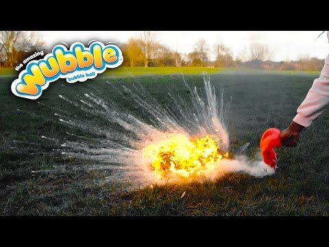 *EXPLODING* WUBBLE BUBBLE WITH GAS!!