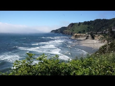 OREGON ROAD TRIP TO  DEVILS PUNCHBOWL | STOLLER WINERY | HOOD RIVER