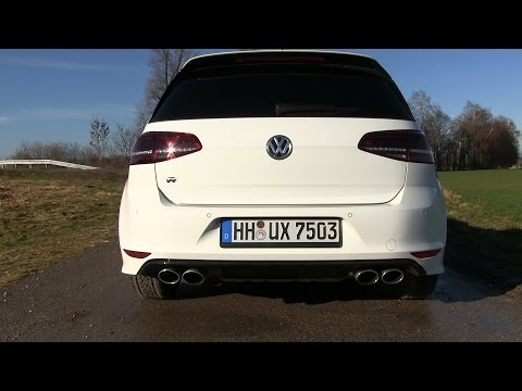 2015 VW Golf 7 R 4Motion (300 HP) Test Drive
