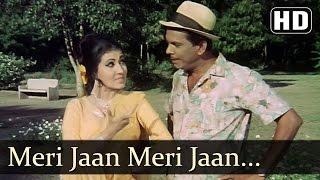 Meri Jaan Apne Aashiq - Johnny Walker - Mere Huzoor - Shankar Jaikishan - Hindi Song