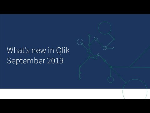 What's New In Qlik Sense September 2019