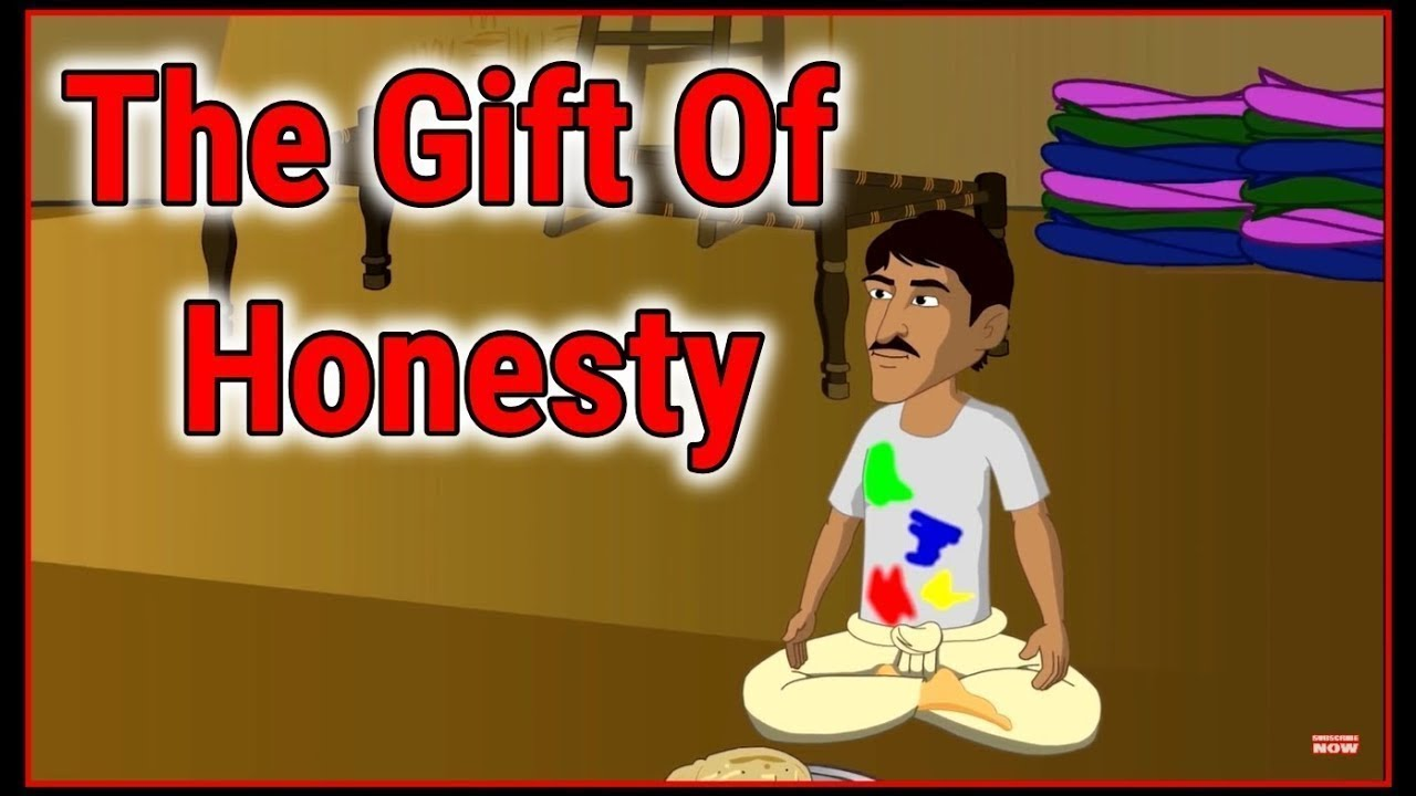 The Gift Of Honesty   Cartoon In English For Kids   Moral Stories   Maha Cartoon TV English