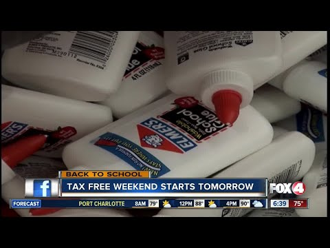 Back to School: Supplies tax-free this weekend
