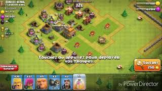 Je vous presente mon village et mon clan dans clash of clans