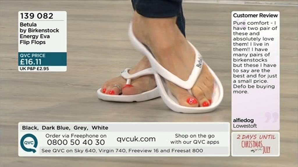 94448eb3de4 Foot model Sally from QVC in Birkenstocks - YouTube
