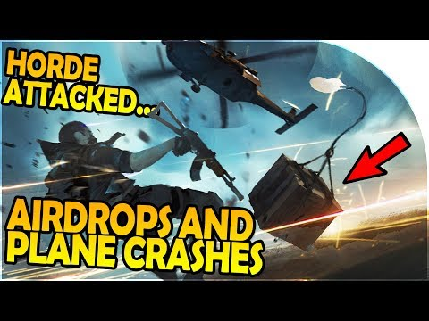 AIRDROP + PLANE CRASH - BASE EXPANSION, HORDE ATTACKED - Last Day on Earth Survival Gameplay Part 2