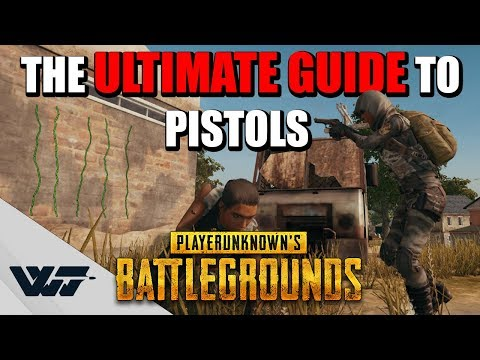 The ULTIMATE GUIDE to Pistols in PUBG 1.0 (Recoil Patterns, Stats Analysis & Recommended use)