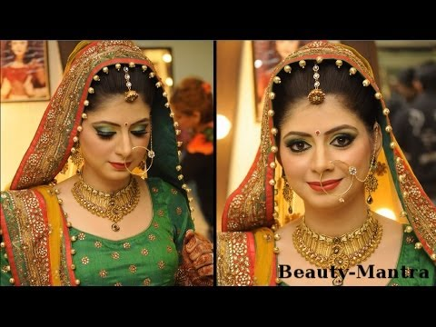 10adefea63 Simple Rajasthani Bridal Look - YouTube