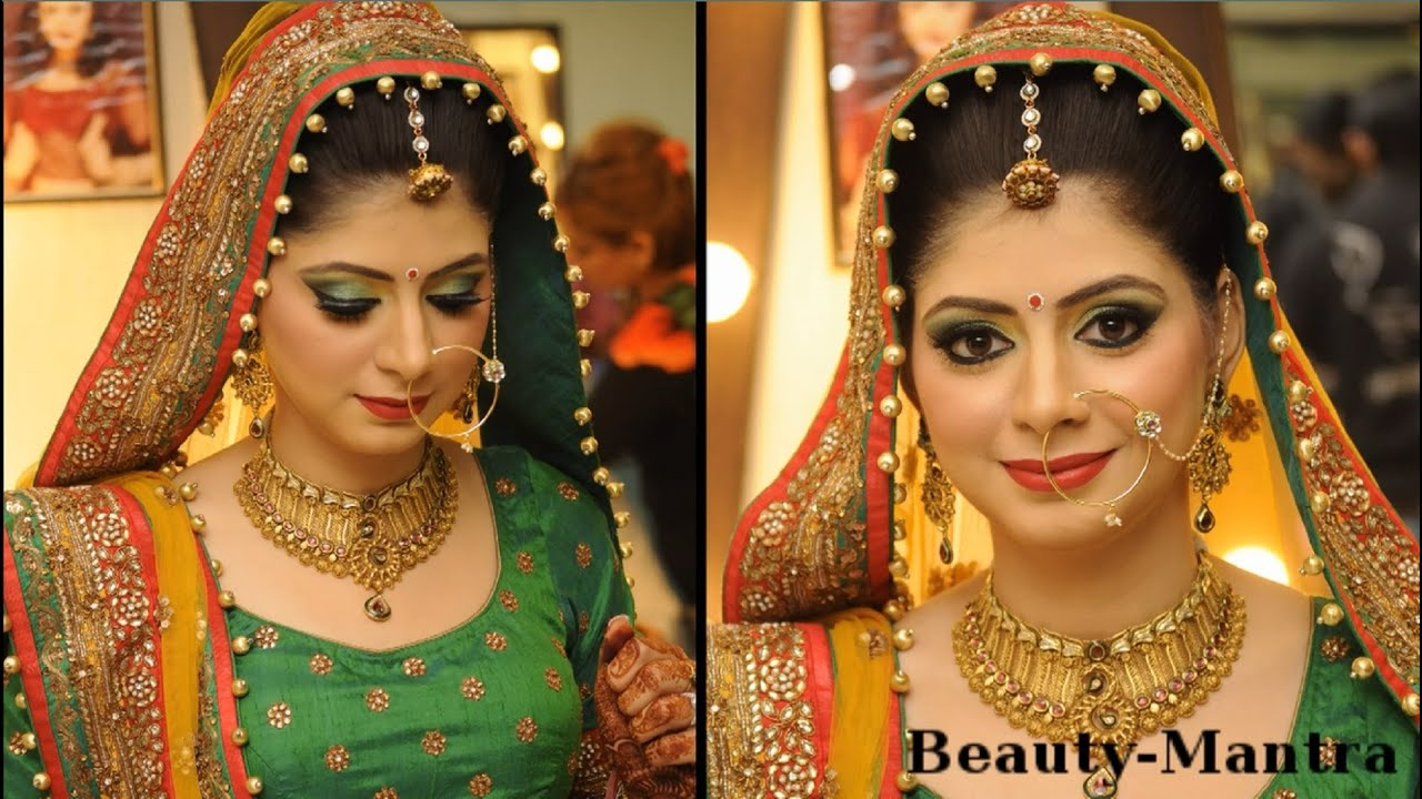 c1111a3a48 Simple Rajasthani Bridal Look - YouTube