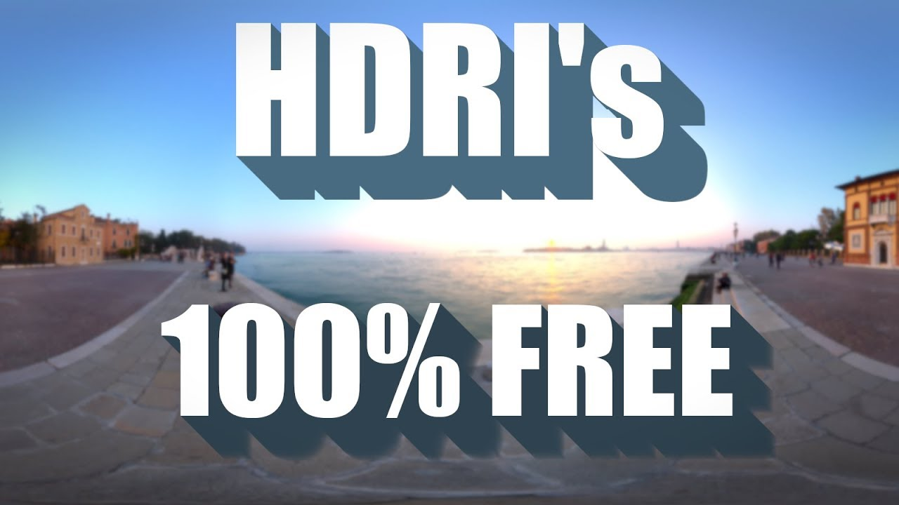 Where to find free HDRI maps (100% royalty free)