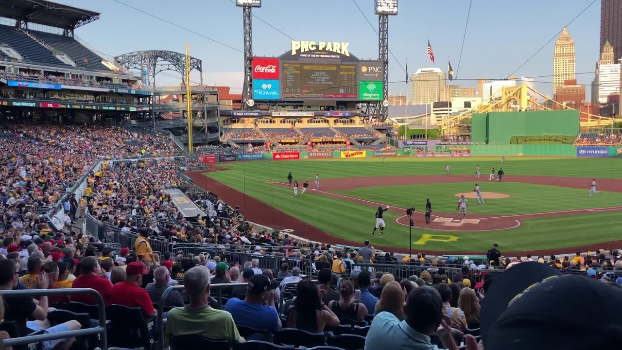 Pnc Park Pittsburgh Pirates Panorama 2019 Youtube