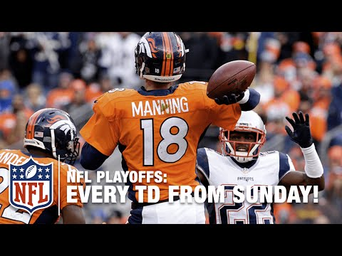 Every Touchdown from the 2015 NFL Playoffs! | NFL Highlights