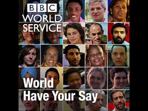 World Have Your Say   BBC World Service 11 April 2013