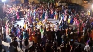 daandia by rtc colony welfare association on occasions of bathukamma organised by mohan mudiraj