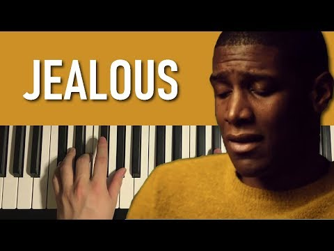 HOW TO PLAY - Labrinth - Jealous (Piano Tutorial Lesson)