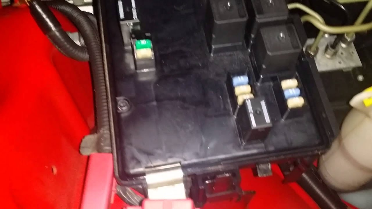 How To Change Starter Relay On Dodge Charger