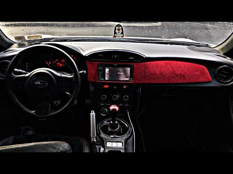 Carbon & Suede Interior For BRZ/FRS/GT86