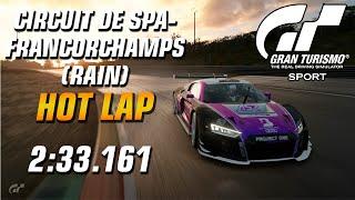 GT Sport Hot Lap // Daily Race C (20.01.20) Gr.3 // Spa-Francorchamps (Rain)