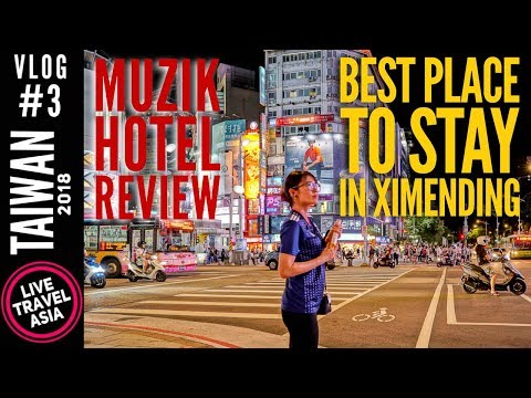 Muzik Hotel Review, Best Affordable Place to Stay in Ximending Taipei, Part 3 Taiwan Travel Guide