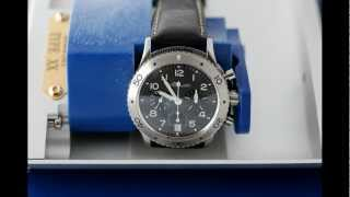 In Reflection:- Breguet Type XX Transatlantique Ref 3820 Flyback Chronograph