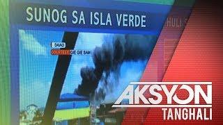 Nasa 200 bahay sa Isla Verde, Davao City, nasunog