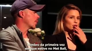 Dianna Agron e Stephen Wight falam sobre McQueen [Entrevista Legendada]