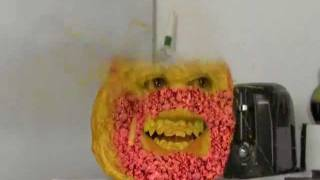 Annoying Orange Death-Marshmallow Attack-Epic Meat Ball