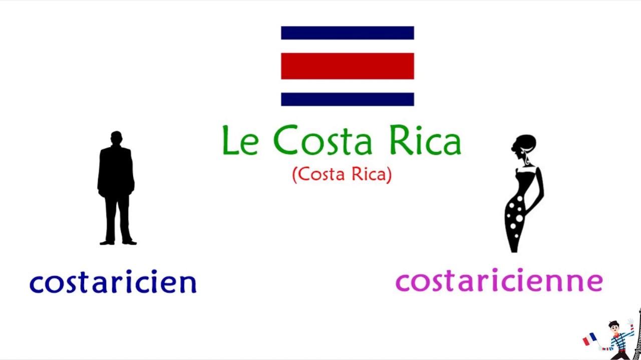 Países Y Nacionalidades En Francés Vocabulario Nacionalidades En Masculino Y Femenino Youtube