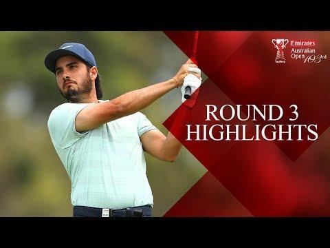 Round 3 Highlights - 2018 Emirates Australian Open ( Aus Open Golf )