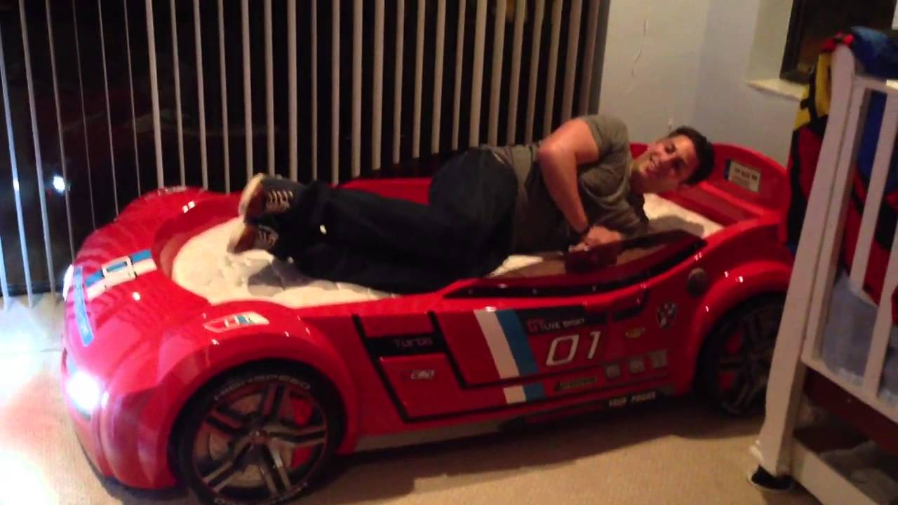 jagged first car bed - youtube