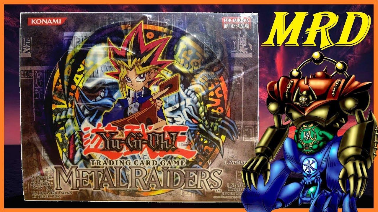 Yu-Gi-Oh! Sammlungserweiterung: Metal Raiders 1. Auflage Display, Gate Guardian 1st sowie Booster