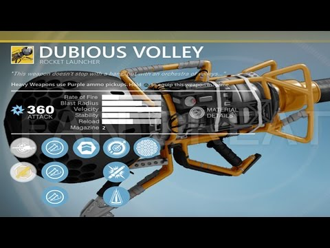 Destiny - DUBIOUS VOLLEY MYSTERIOUS APPEARANCE!