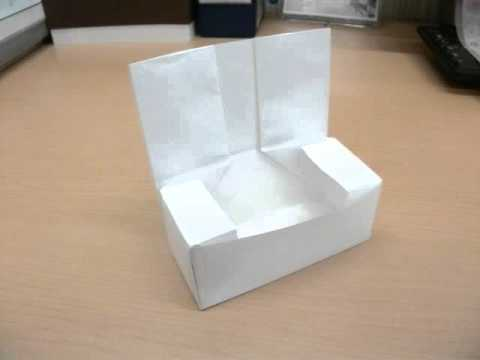 ハート 折り紙:紙 箱の折り方-youtube.com