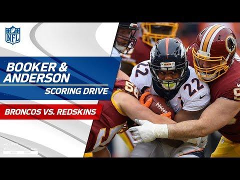 Anderson & Booker Lead Denver Downfield on Scoring Drive! | Broncos vs. Redskins | NFL Wk 16