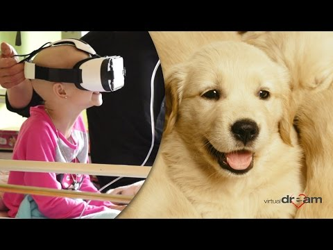 Virtual Dream - Virtual Reality for kids in hospitals. Oncology, hospices, child care houses.