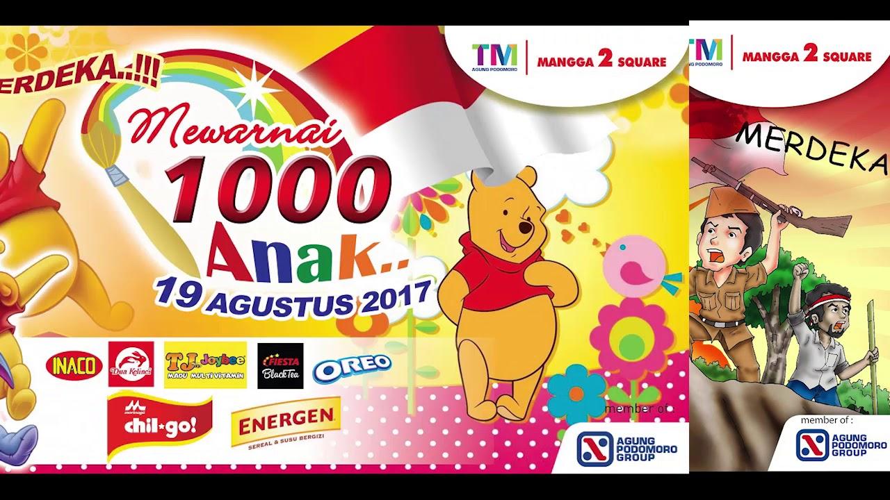 Event Seminar Kesehatan Lomba Mewarnai 1000 Anak Dan