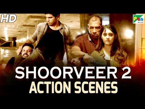 Shoorveer 2 (Okka Kshanam) Best Action Scenes | New Hindi Dubbed Full Movie | Allu Sirish, Surabhi
