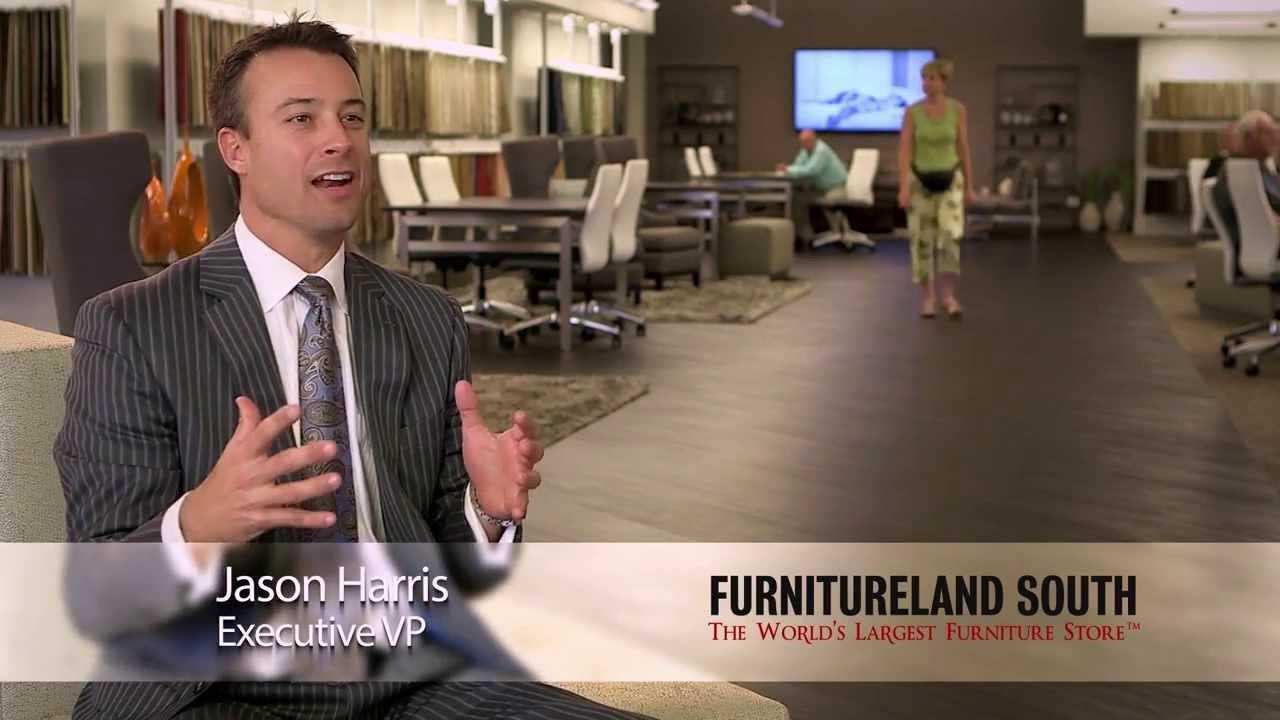Designing the furnitureland south design center youtube for Furnitureland south