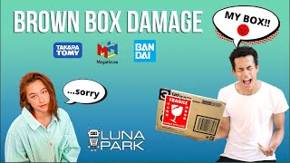 Premium Bandai brown box damaged?! Parcel Shipping Service Japan vs. rest of the world
