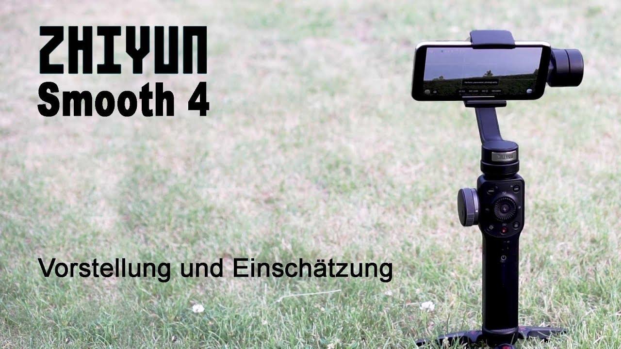 Zhiyun Smooth 4 Bedienungsanleitung Deutsch