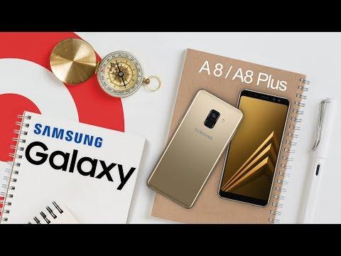 Обзор Samsung Galaxy A8 и A8 Plus - Самсунг А8 к Новому 2018 Году