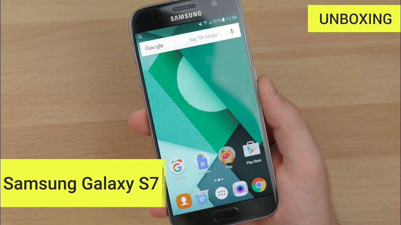 Samsung galaxy s7 edge unboxing deutsch 4k youtube - Samsung Galaxy S7 Unboxing Erster Eindruck Deutsch German