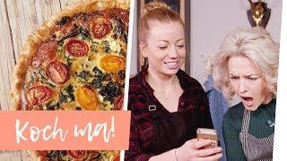 Saftige Grünkohlquiche und Wintersalat mit Ariane Alter | Koch ma!
