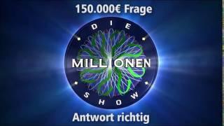150.000€ Frage - Antwort richtig | Millionenshow Soundeffect