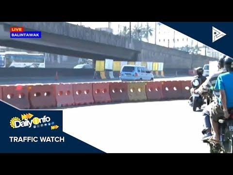 TRAFFIC UPDATE: Rerouting schemes kaugnay ng road closure sa Balintawak